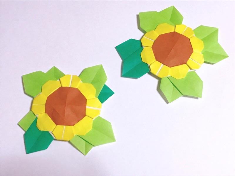 折り紙の向日葵2