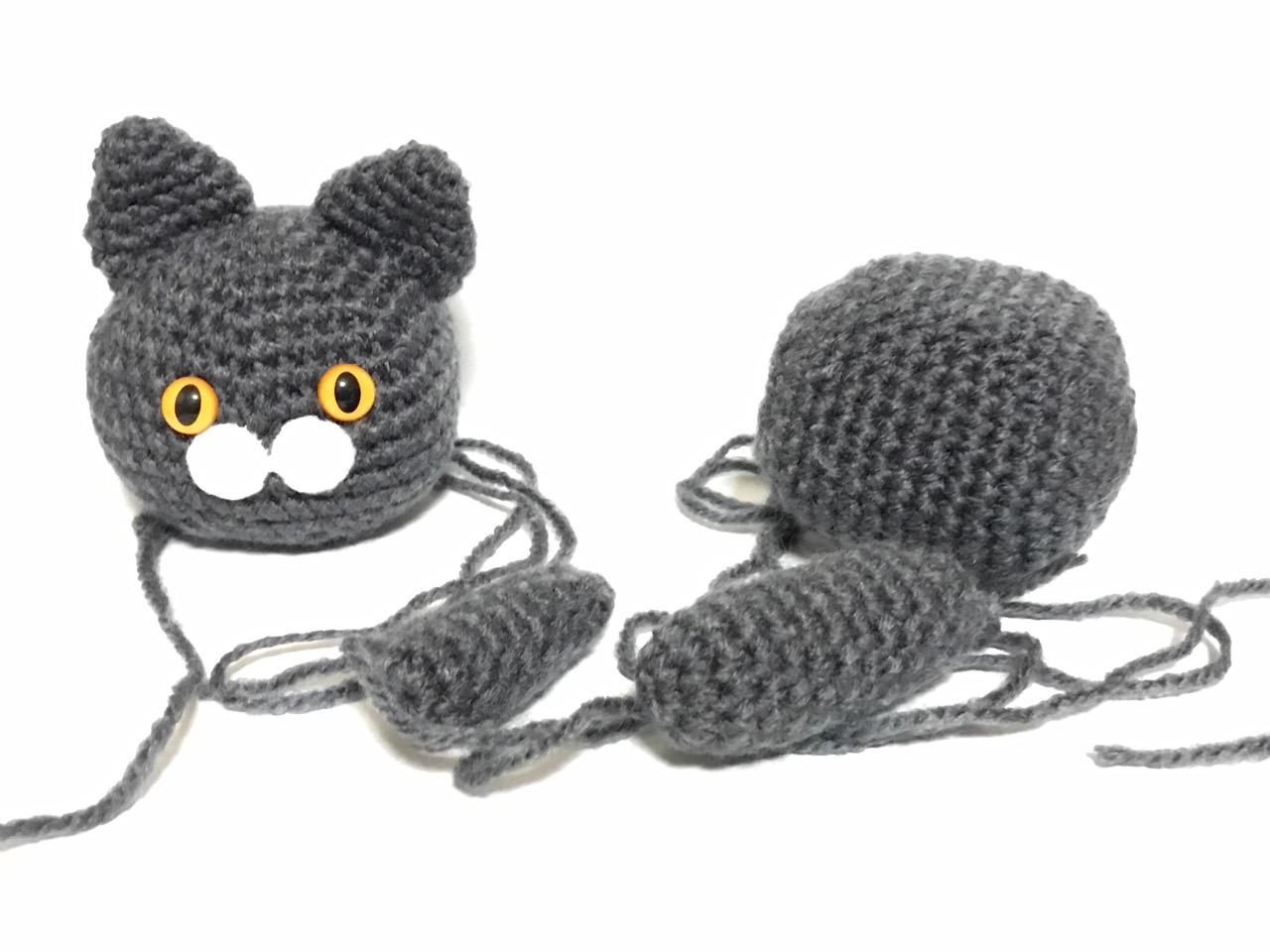 編みぐるみ猫7