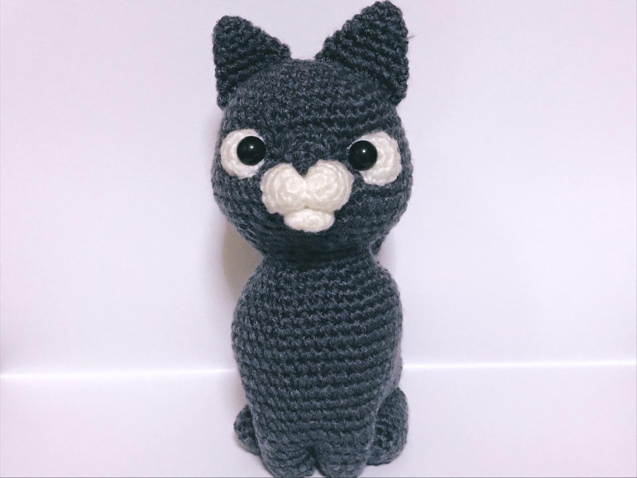 編みぐるみ猫6