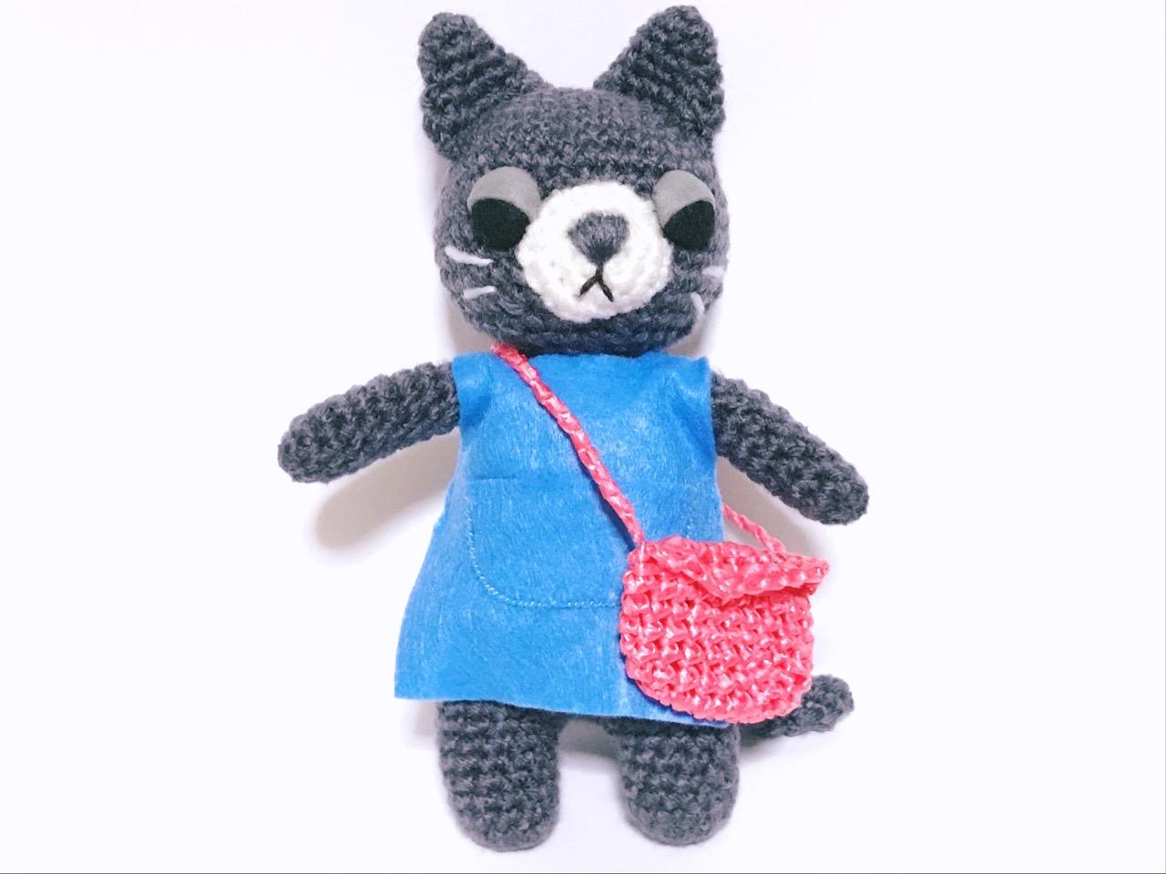 編みぐるみ猫5