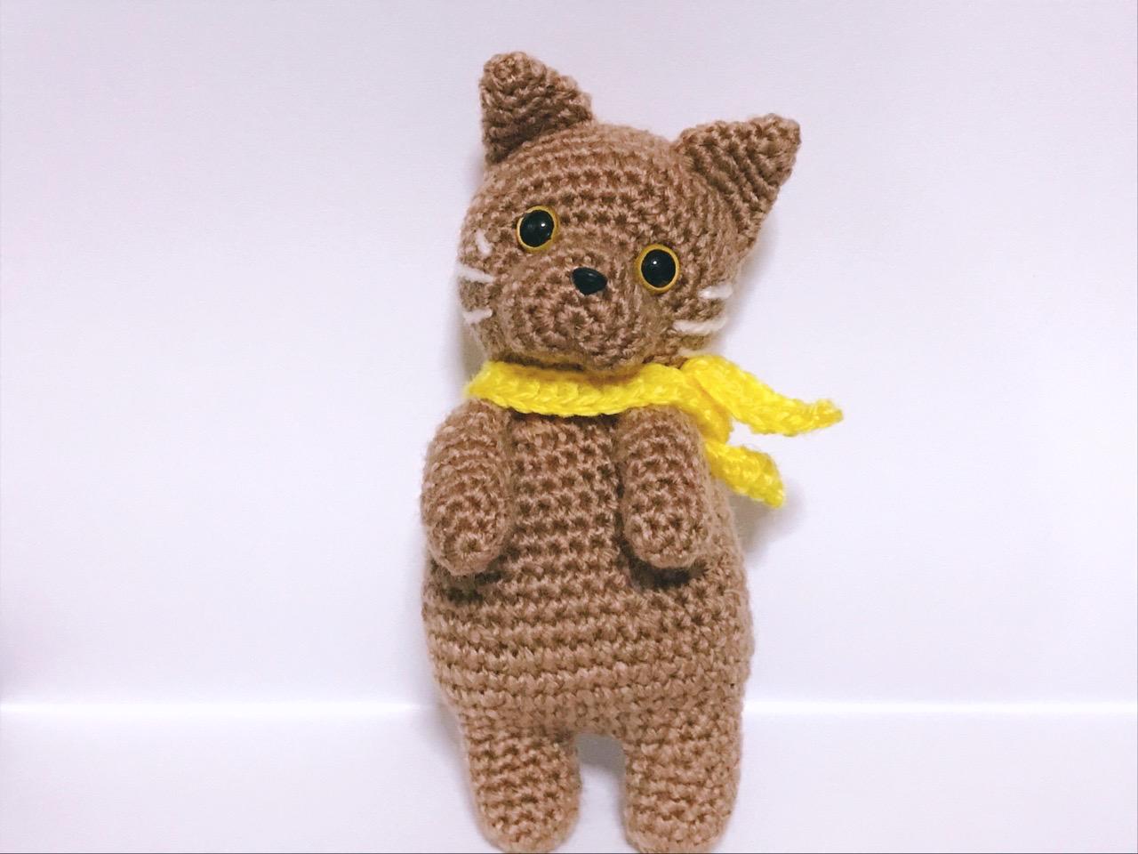 編みぐるみ猫4
