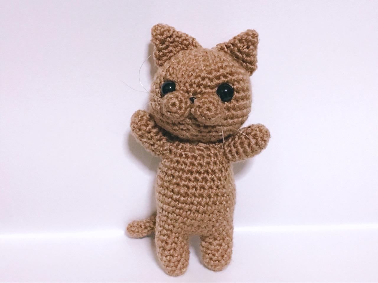 編みぐるみ猫3