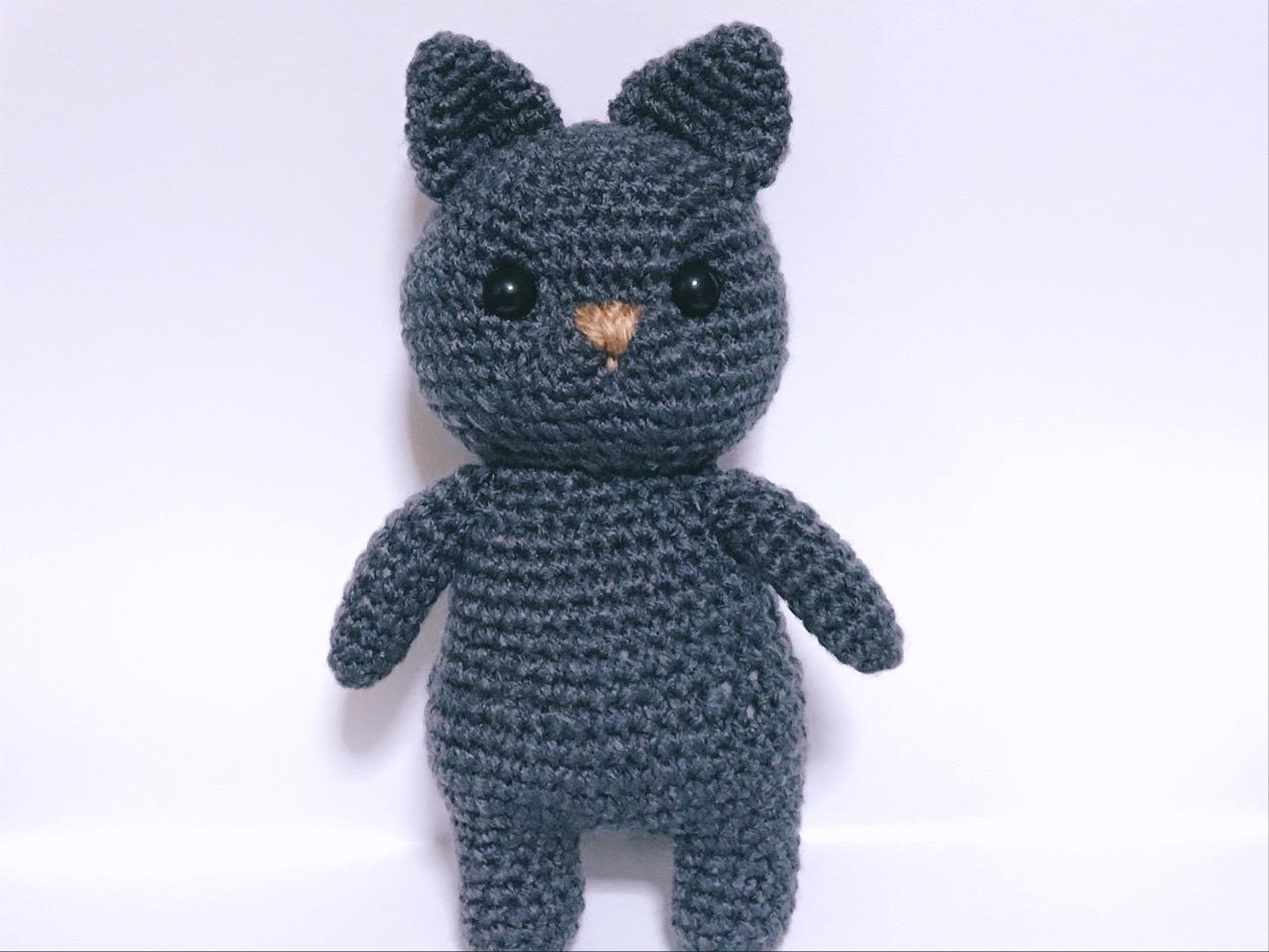 編みぐるみ猫2